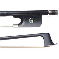 Fancy Black Carbon Fiber Viola Bow- JonPaul bows (XA16)