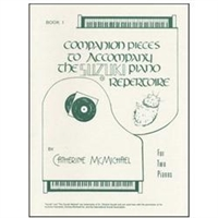 Companion Pieces to Suzuki Piano, Volume 1 - 2 Pianos - McMichael