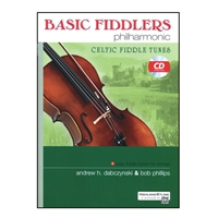 Basic Fiddlers Philharmonic Celtic Fiddle Tunes, viola