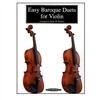 Easy Baroque Duets for Violin - Betty Barlow