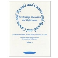 Rounds and Canons for Piano, Volume 1 - William Starr