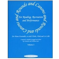 Rounds and Canons for Piano, Volume 2 - William Starr