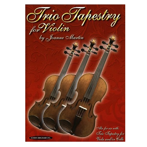 Trio Tapestry for Violin - Joanne Martin