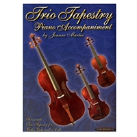 Trio Tapestry Piano Accompaniment - Joanne Martin