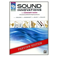Sound Innovations for Concert Band: B-flat Clarinet Book 1 with CD & DVD