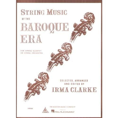 String Music of the Baroque Era