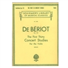 The First Thirty Concert Studies for the Violin - De Beriot