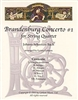 Brandenburg Concerto #1 for String Quartet