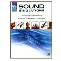 Sound Innovations For String Orchestra Bass Book 1 with CD & DVD