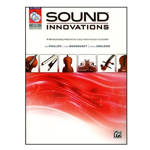 Sound Innovations For String Orchestra Bass Book 2 with CD & DVD