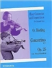Concertino in D, Op. 12 for Violin and Piano  by F. Kuchler