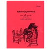 Kabalevsky Kammermusik for Piano Violin and Cello: Violin Part