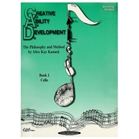 Creative Ability Development Book 1 Cello, with casette