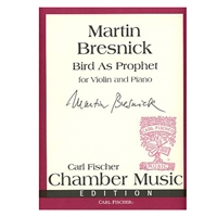 Bird As Prophet for Violin and Piano