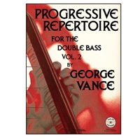 Progressive Repertoire for the Double Bass - Vance Vol.2 with CD